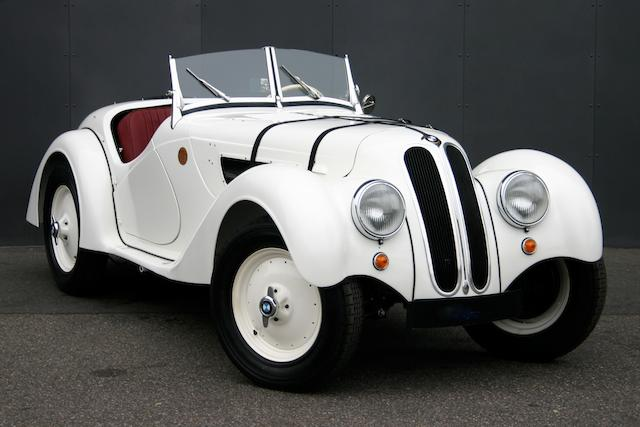 Left-hand drive,1939 BMW 328 Roadster Re-creation  Chassis no. 85345RC (see text)