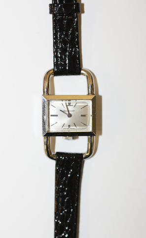 Jaeger-LeCoultre. A lady's stainless steel manual wind wristwatch Ref:1670.42, Case No.1394838, Circa 1965