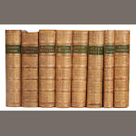 BINDINGS DICKENS (CHARLES) Our Mutual Friend, 2 vol., 1865; and 33 others, similar (including 13 vol. of Scott's Works) (35)