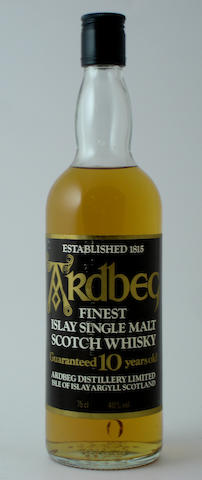 Ardbeg Guaranteed-10 year old