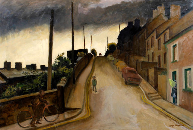George Chapman (British, 1908-1993) 'Rhonda Valley'
