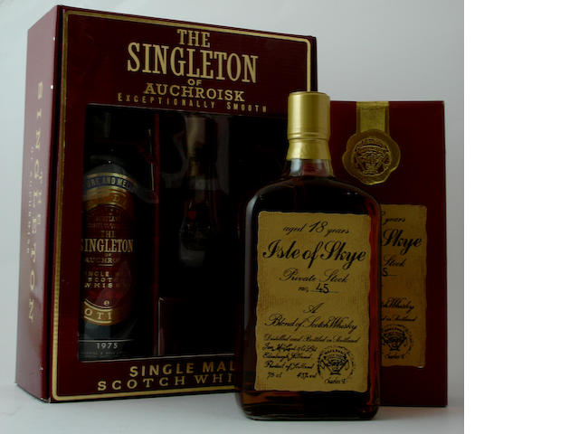 The Singleton of Auchroisk-1975<BR /> Isle of Skye Private Stock-18 year old