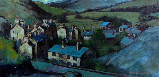 Hywel Harries (Welsh, 1921-1998) 'Corris', near Machynlleth