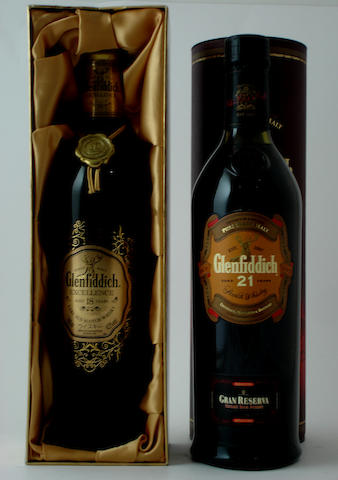 Glenfiddich Excellence-18 year old<BR /> Glenfiddich Gran Reserva-21 year old