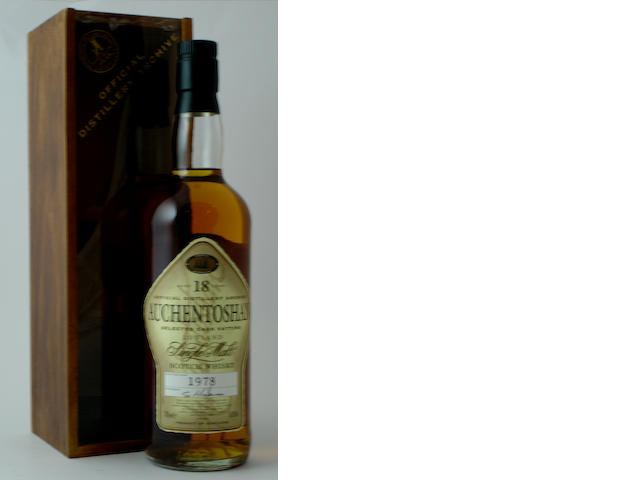 Auchentoshan-18 year old-1978