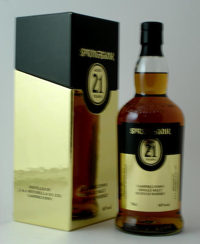 Springbank-21 year old