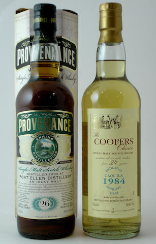 Port Ellen-26 year old-1983<BR /> Caol Ila-24 year old-1984