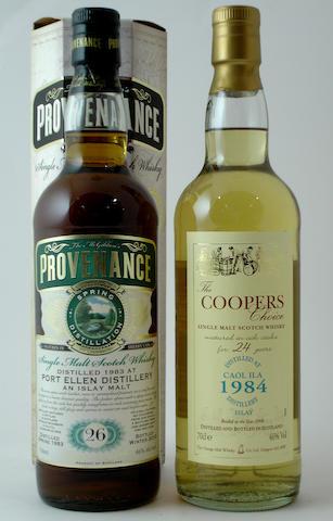 Port Ellen-26 year old-1983<BR /> Caol Ila-24 year old-1984