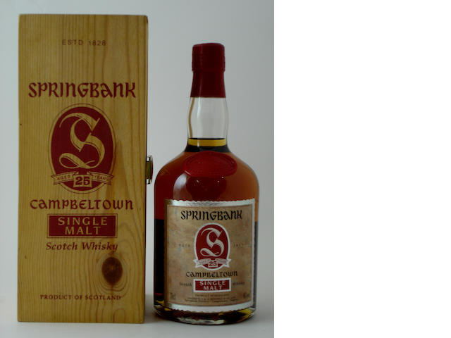 Springbank-25 year old
