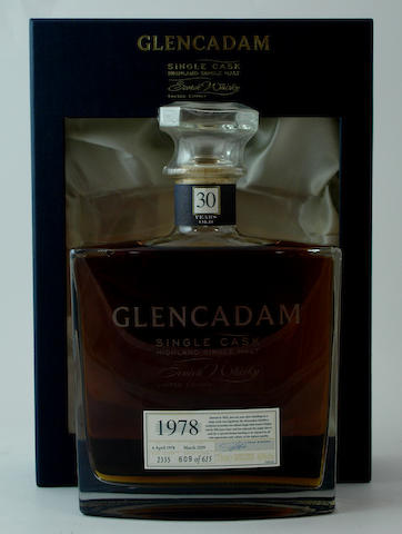 Glencadam-30 year old-1978