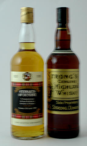 Stewart's of Dundee<BR /> Strong's Genuine Highland Whisky