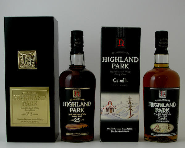Highland Park-25 year old<BR /> Highland Park Capella