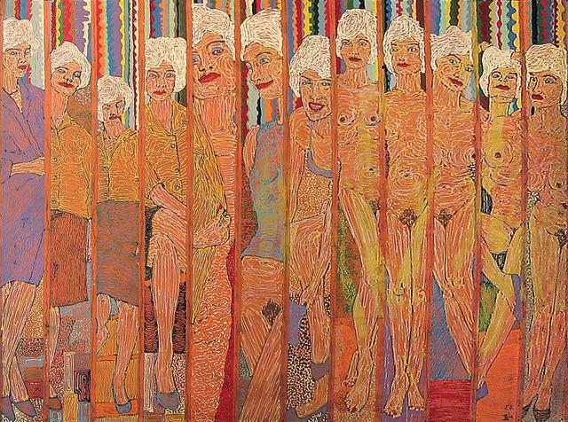 Richard  Larter (born 1929) Stripperama No.3 1964