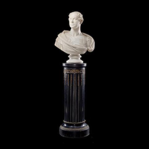 Samuel Joseph, British (1791-1850) A marble bust of Lieutenant-General Sir Herbert Taylor