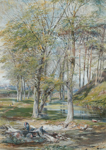 Paul Jacob Naftel (British, 1817-1891) The Fairies' Glen, Guernsey