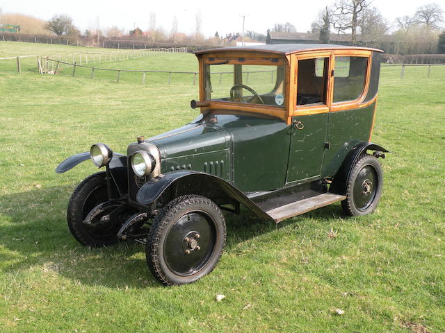 1922 Charron Charronette Cyclecar  Chassis no. TC118725425 Engine no. 27571
