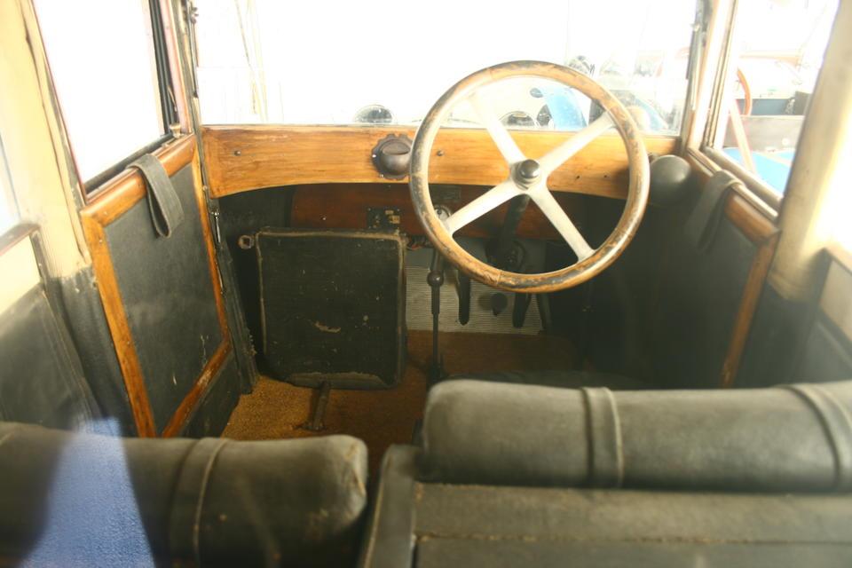 1922 Charron Charronette Cyclecar  Chassis no. TC118725425 Engine no. 27571