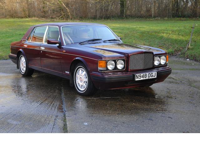 1995 Bentley Brooklands LWB Sports Saloon  Chassis no. SCBZF12C6TCH57366 Engine no. 85454L410M/NIT