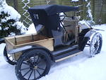 A half scale Model 'T' Ford Pick Up child's electric car,