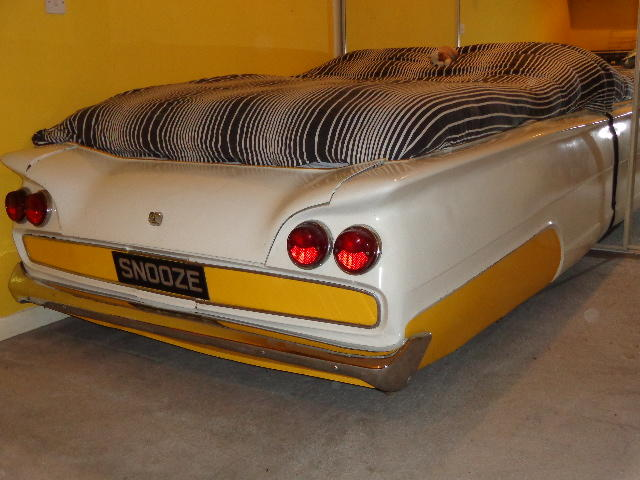 An Automobile bed by Andy Saunders, 1984,