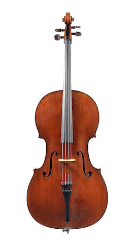 A Cello of the Longman and Broderip School (2)