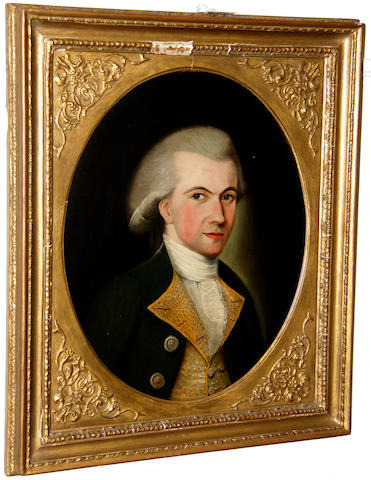 English School, late 18th century Portrait of a gentleman