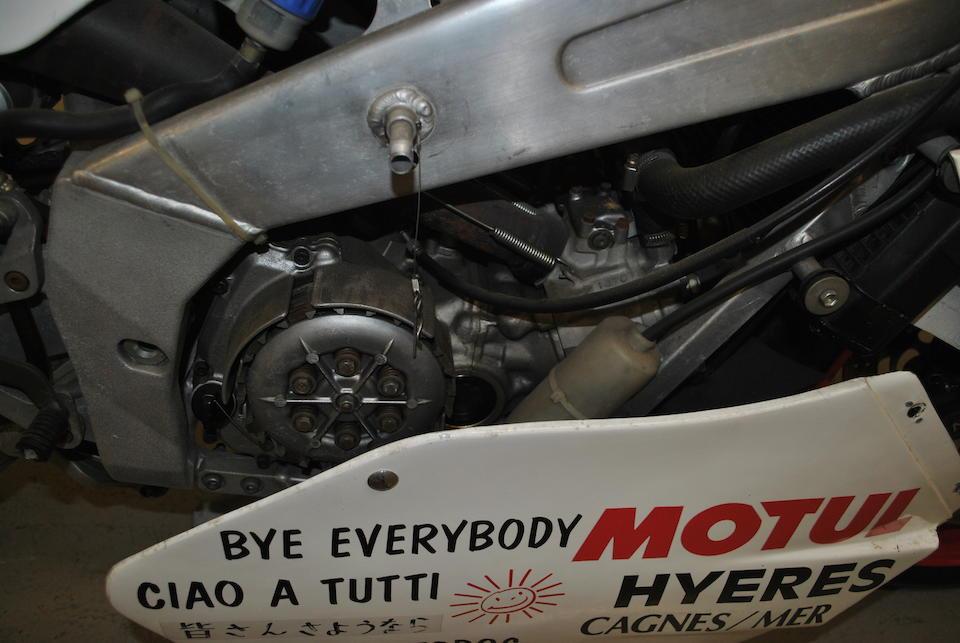 The ex-Jean-Francois Baldé,1989 Yamaha TZ250W Grand Prix Racing Motorcycle Frame no. 003229