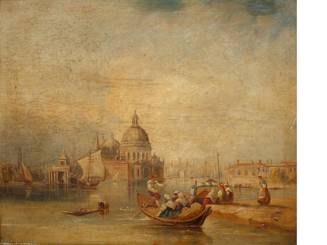Continental School, 19th Century Venetian Scene