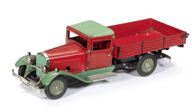 A Constructor Open Lorry kit by Marklin, German, 1930s,