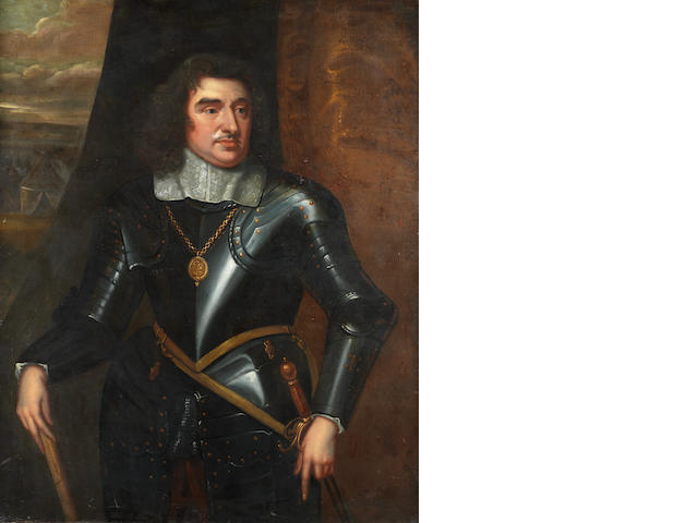 Manner of Robert Walker, early 18th Century Portrait of General Monck, 1st Duke Albermarle,