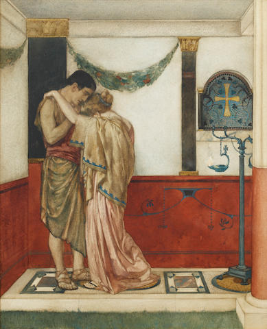 William Russell Flint (Scottish, 1880-1969) Scene from Canterbury Tales