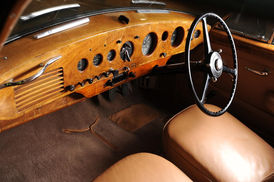 1952 Bentley R-Type Continental 4.9-Litre Sports Saloon  Chassis no. BC24A Engine no. BCA23