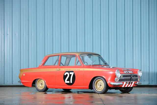 The ex-Sir John Whitmore, Alan Mann Racing, European Touring Car Championship-winning,1965 Lotus Cortina Competition Saloon  Chassis no. BA74EU59019 Engine no. LP2864LBA