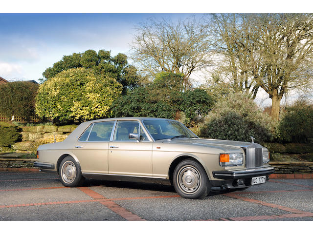 1982 Rolls-Royce Silver Spirit Saloon  Chassis no. SCAZS0008CCH05563 Engine no. 05563