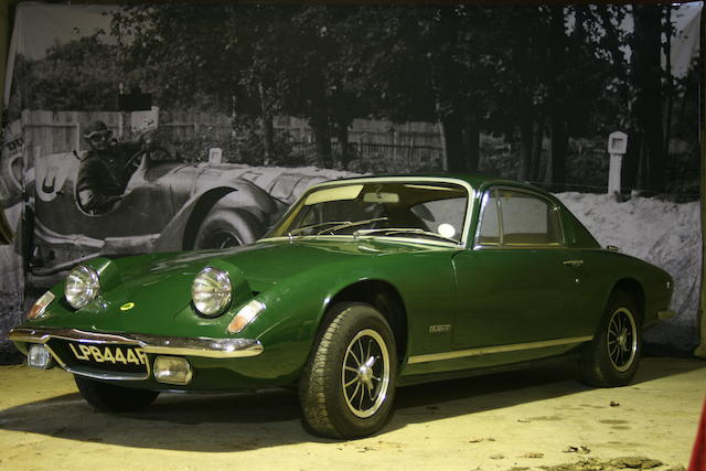 1975 Lotus Elan +2S 130/5 Coupé  Chassis no. 1910L Engine no. P31726