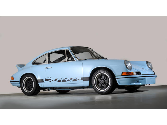 Delivered new to Belgium,1973 Porsche 911 Carrera RS 2.7-Litre Coupe  Chassis no. 9113601059 Engine no. 6631030 (see text)