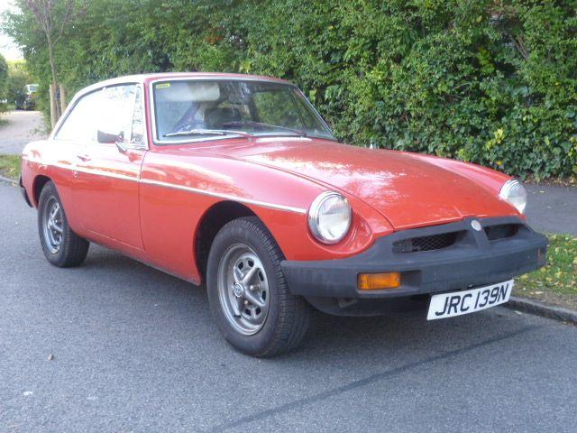1975 MG BGT