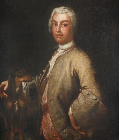 Circle of Vittore Giuseppe Ghislandi, called Fra' Galgario (Bergamo 1655-1743) Portrait of a gentleman, half-length,