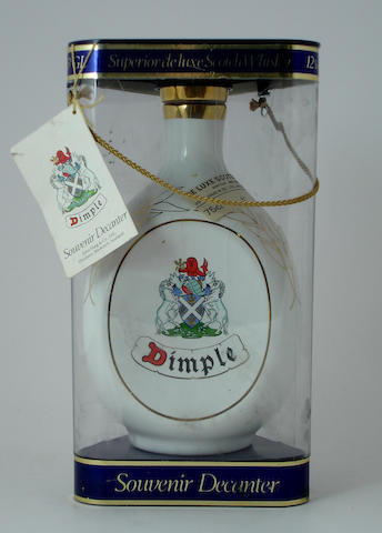 Dimple Souvenir Decanter