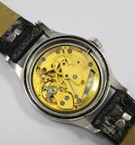 Smiths. A stainless steel manual wind military issue wristwatch Movement No.60466E, Circa 1945
