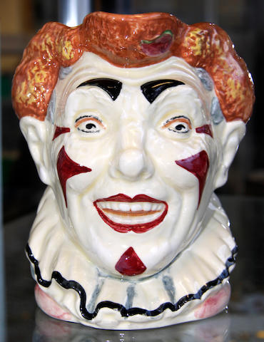 Royal Doulton character jug entitled - the clown