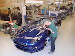 2002 Aston Martin DB7 V12 Vantage Coupé  Chassis no. SCFAB12392K303086 Engine no. AM2/03153