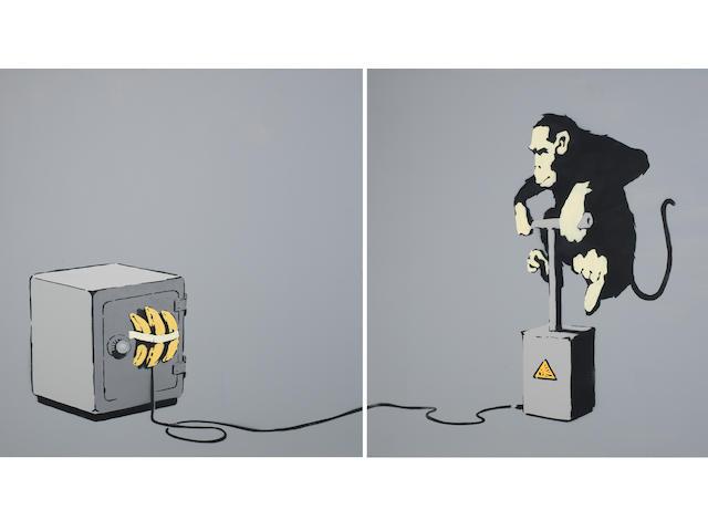 Banksy (b. 1975) Monkey Detonator