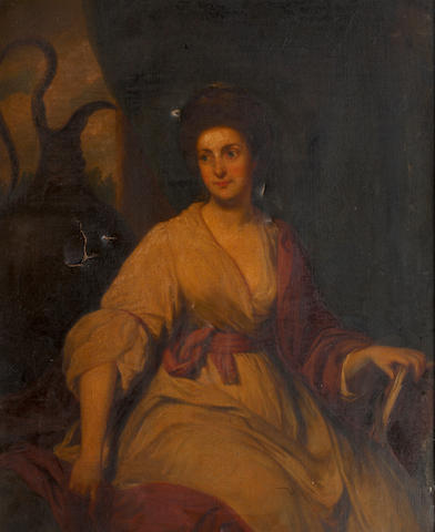English School, 18th Century  Portrait of an Elegant Lady