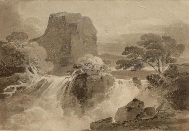John Sell Cotman (British, 1782-1842) River scene