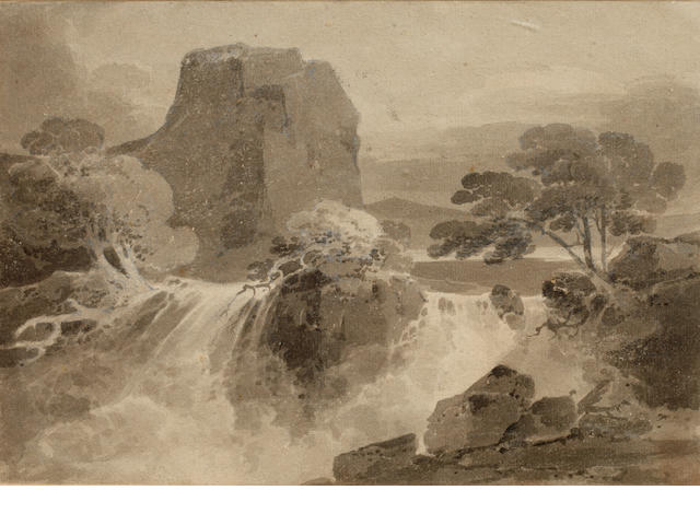 John Sell Cotman (British, 1782-1842) River scene
