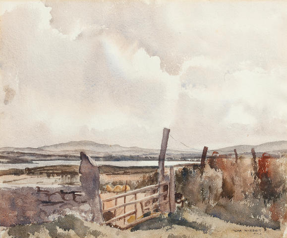 Marjorie Henry (Irish, 1900-1974) In the Rosses, Co. Donegal