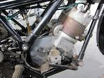 c.1934 Scott 498cc Flying Squirrel Racing Motorcycle Frame no. 3842M Engine no. LFZ4001