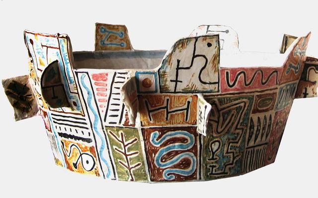 Stephen Benwell (born 1953) Dish, 1992 20 x 43 x 43cm (7 7/8 x 16 15/16 x 16 15/16in).