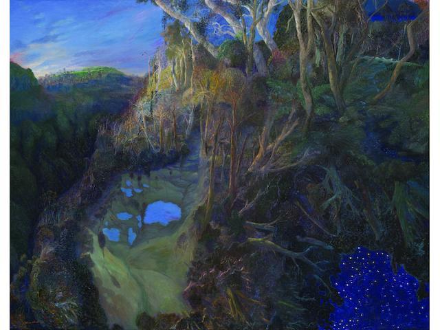 William Robinson (born 1936) Blue Pools Springbook, Springbook to Beechmont, 2000